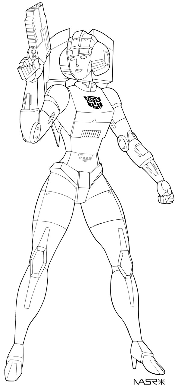 arcee transformers prime coloring pages - photo#29
